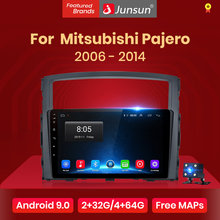 Junsun V1 2G + 32G Android 9.0 Per Mitsubishi Pajero 4 V80 V90 2006 - 2014 Auto Radio multimedia Video Player GPS 2 din dvd(China)