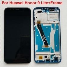 Per Huawei Honor 9 Lite / Honor 9 Gioventù LLD AL00 LLD AL10 LLD TL10 LLD L31 DIsplay LCD + Touch Screen Digitizer Assembly + telaio