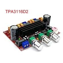 2.1 kanałowy dźwięk cyfrowy wysokiej mocy TPA3116 płyta wzmacniacza 2*80W + 100W TPA3116D2 wzmacniacze subwoofera Amplificador moduł Amp