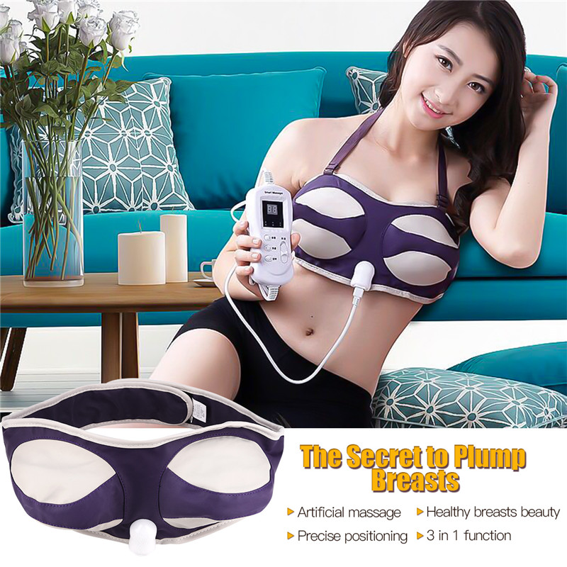 New Electric Breast Massager Bra Female Breast Enhancement Massager Lobular Hyperplasia Chest Enlargement Of Breast Enhancement