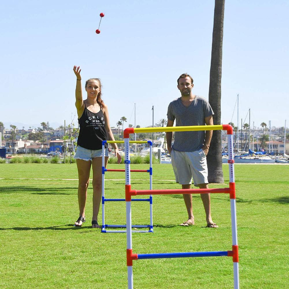 Funny Ladder Ball Game Set Golf Throw Game Backyard Toys Adult And Children Outdoor Casual Games