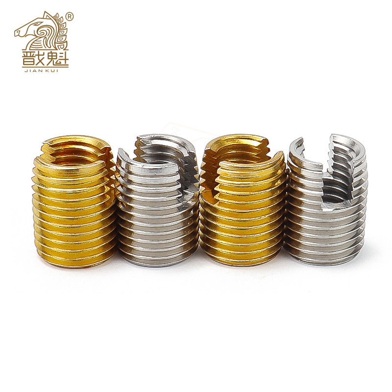 При заказе 1-10 штук M2 для M16 оцинкованная Нержавеющаясталь резьбовые вставки из металла с резьбой вставки Самонарезающий винт с резьбой