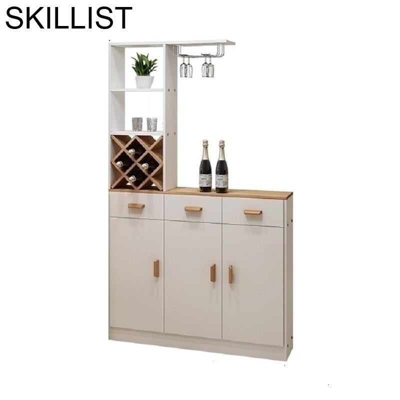 Per La Casa Rack Sala Vetrinetta Da Esposizione Armoire Dolabi Mesa Table Cocina Storage Furniture Mueble Bar Shelf Wine Cabinet