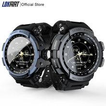 LOKMAT Sport Smart Watch Professional 5ATM Waterproof Bluetooth Call Reminder Di