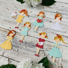 Metal Cutting Dies Little Girl With Various Cute Hairstyles For DIY Scrapbooking Embossing Paper Cards Making Crafts  New