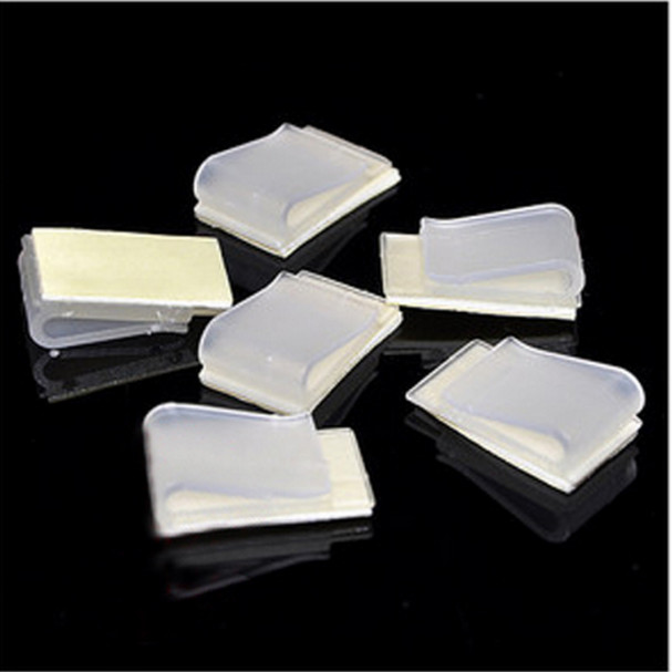 10Pcs CISS Accessories DIY Ciss line Securing clip Clamp Self-adhesive/Pipeline clamp FOR EPSON CANON HP BROTHER Printer