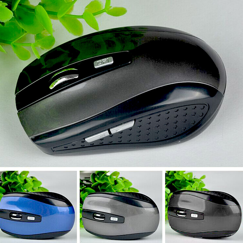 3 Colors 2.4GHz Computer Gaming Mouse Bluetooth Wireless Overwatch USB Interface PC Laptop Accessories Supplies 1600 DPI