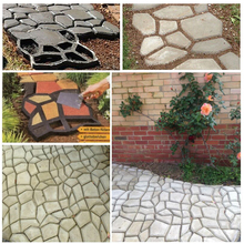 Get more info on the Garden Pavement Mold Stepping Driveway Stone Path Munnual Paving Cement Brick Stone Road Concrete Mould for Garden Walk Pavement