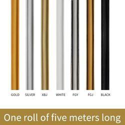 ПВХ декоративные мягкие линии зеркало края гипса потолочная линия фоновые обои самоклеющиеся полосы аксессуары для дома