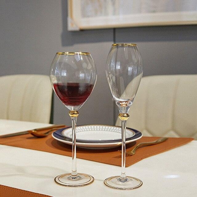 2Pcs Retro  Wine Glass  5