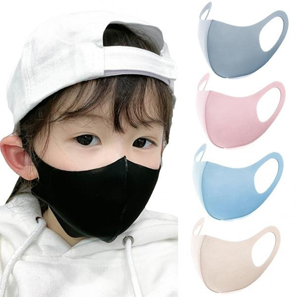 Mascarillas Fpp2 Face Mask For Kids Child Washable Reusable Mouth Cover With Breath Valve Fpp2mask Masque Color Masks Respirator