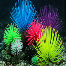 Glowing Artificial Jellyfishes Sucker Coral Aquarium Artificial Coral Plant Underwater Landscape Fish Tank Aquarium Accessories