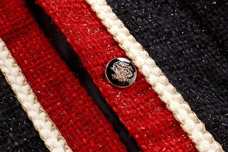 Новинка; корейский женский осенний твидовый кардиган в студенческом стиле; куртка для студентов; повседневное однобортное свободное шерстяное пальто; верхняя одежда