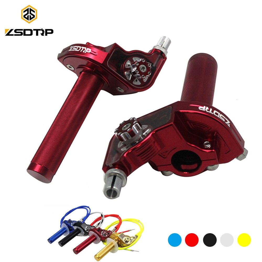 Cable For Yamaha TTR YZF 125cc 150cc 160cc 200cc 250cc Pit Dirt Bike XLJOY 1//4 Turn Aluminum Twist Throttle
