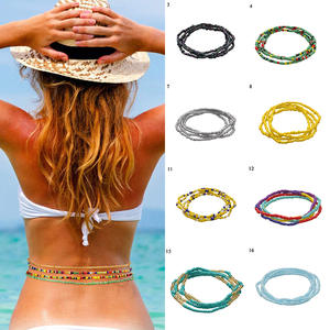Bikini Waistband-Belts Dress Chain Belt-Body Vintage Bohemia Women Beach Summer Charms