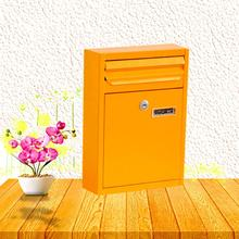 Outdoor Wall Mount Mailbox Security Locking Mailbox Storage Letter Envelopes Newspaper Magazine Post Box Yard Garden Decor