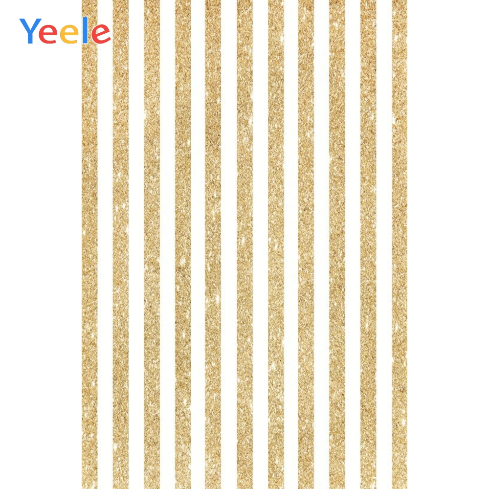 Gold Stripe Background Newborn Baby Photo Backdrop Photography Kids Birthday Photocall Custom Photophone For Photo Studio Props in Background from Consumer Electronics