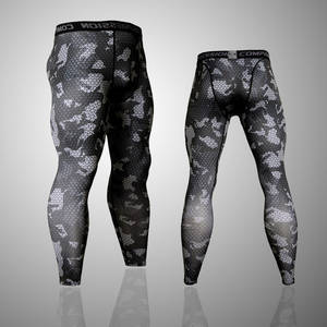 Camo Joggers Leggings Compression-Pants Fitness-Tights Mens Trousers Bodybuilding 3D