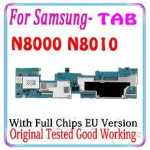 100% Chính Hãng Cho Samsung Galaxy Note 10.1 N8000 N8010 Bo Mạch Chủ Với Chip EU Phiên Bản Luận Lý Ban Cho N8000 N8010 Moterboards