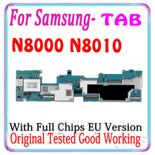 100% oryginalny do Samsung Galaxy Note 10.1 N8000 N8010 płyta główna z chipami wersja ue płyta główna dla N8000 N8010 płyta główna