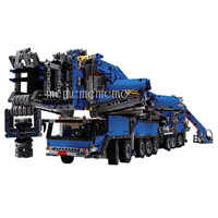 New MOC RC Motor Power Function Crane LTM11200 Liebherr fit Technic MOC-20920 kits Building Blocks Bricks diy toy Gift