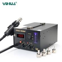 YIHUA 8508D+ Digital Hot-Air Soldering Station spot welding machine Free shipping