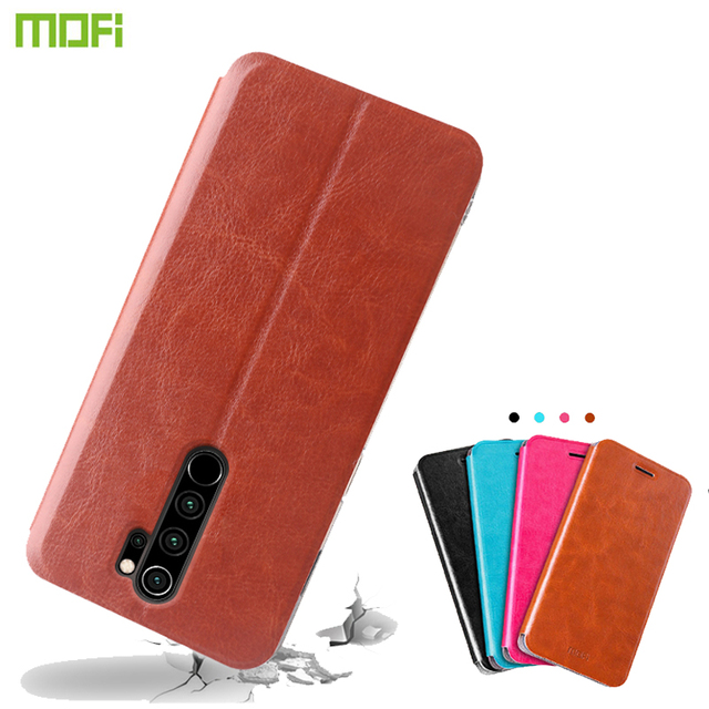 For Xiaomi Redmi Note 7 8 Pro Case MOFI Flip PU Leather Stand Cases For Redmi Note 8T Note 8 Pro Book Style Book Style Cover