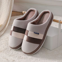 House Slippers Slides Casual-Shoes Flurry Mens Indoor Big-Size Winter Unisex for Couple