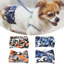 Dog diapers Pants Pet Physiological Panties washable Diaper  Clothes Female Fashion Casual D40