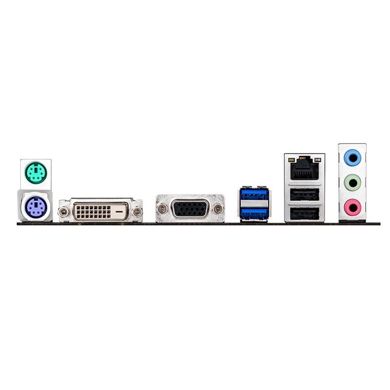 For ASUS H81M-K Desktop motherboard Intel H81 LGA 1150 Micro ATX DDR3 16GB SATA3.0 USB2.0 100% fully Tested Free shipping 3