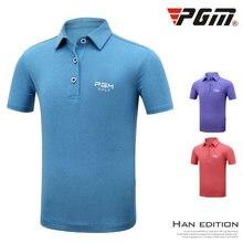 Pgm Golf Мужской Ультра-топ из тонкой ткани с коротким рукавом футболка Летняя быстросохнущая спортивная одежда Джерси дышащая крутая футболка