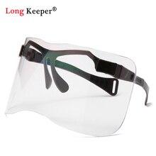 Oversized Visor Shield Sunglasses Women Men Brand Design Win