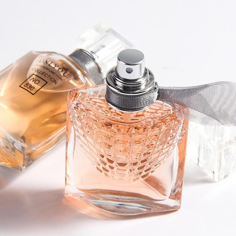 30ML Women Men Fragrance Long-Lasting Atomizer Bottle Glass Perfume Natural Perfume Lady Rose Flavor Deodorant Aromatic Water