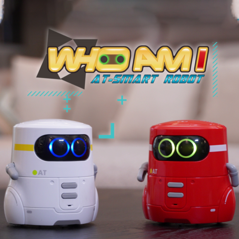 Toy Robot Educational Interactive Robotics Who am i Touch Control Toy Interactive Robot Cute Toy Intelligent Robot Gift for kids