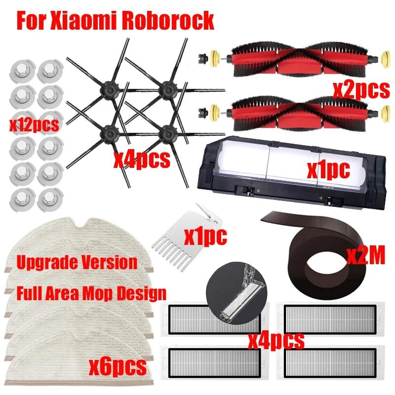 Main Brush HEPA Filter Parts For Xiaomi Roborock S6 S5 MAX S60 Vacuum Cleaner