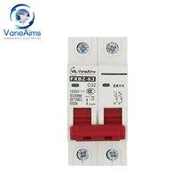 FXBZ-63 dc diminuto disjuntor dc1000v mcmcb solar sistema fotovoltaico dc interruptor pv