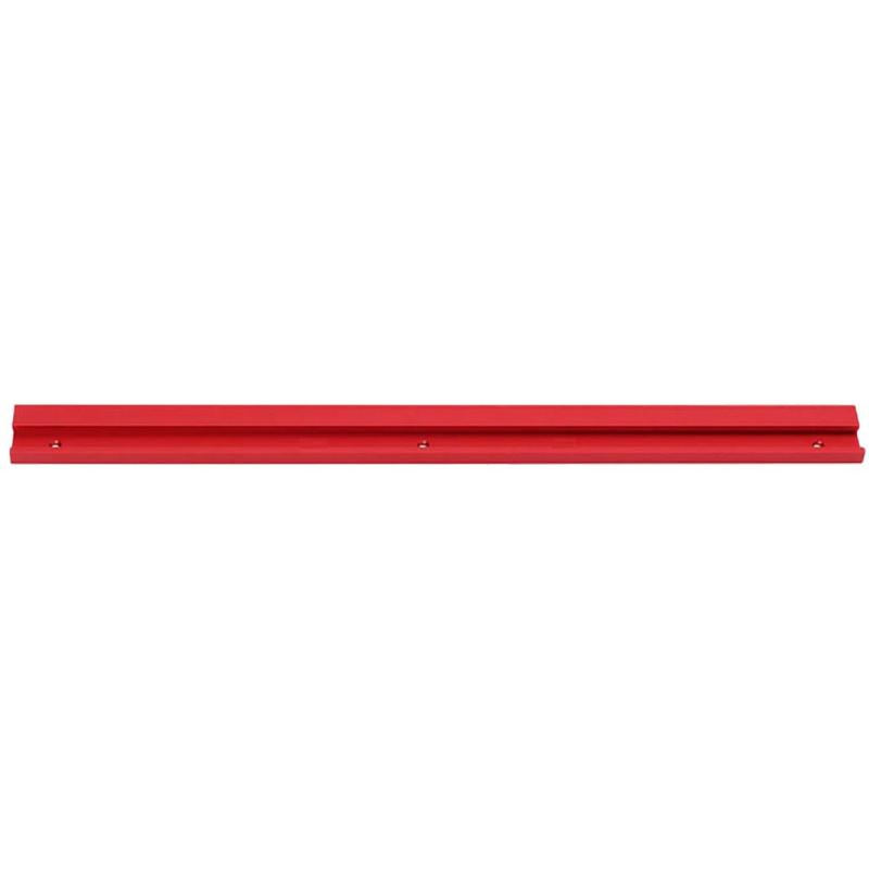 400mm Red Woodworking Aluminum Alloy Slot Miter Track For Router Table Bandsaws T-slot Miter Track/Table Saw Router Miter Gauge