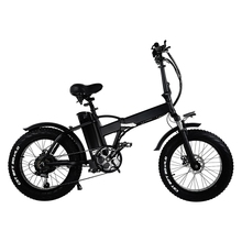 GW20 Portable 20 Electric Bicycle 7 Speed Fat Bike Snow Bike 48V 15Ah Large Capacity Battery