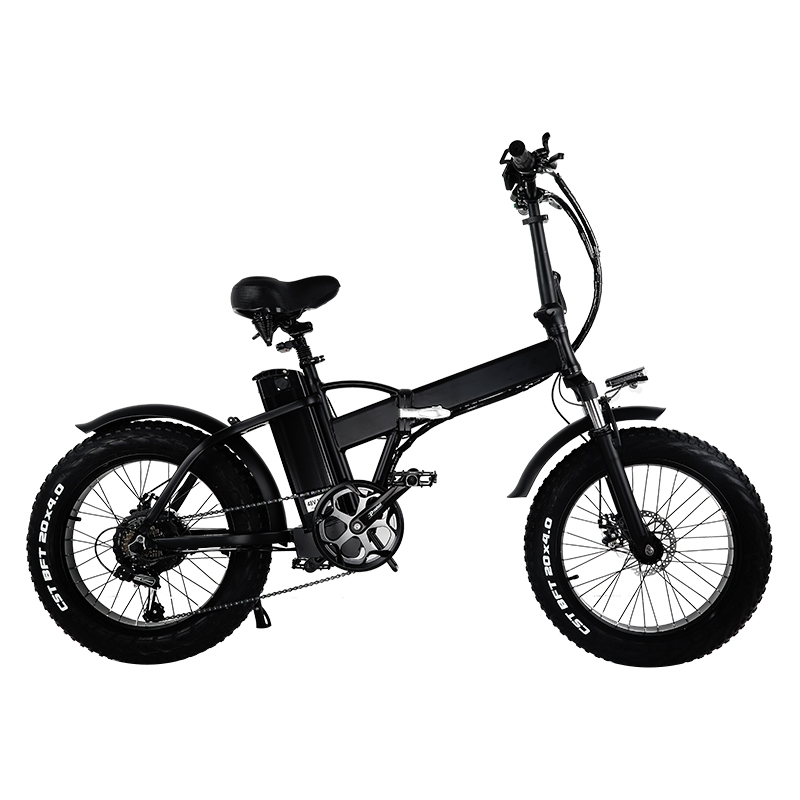 GW20 Portable 20 Electric Bicycle 7 Speed Fat font b Bike b font Snow font b