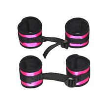Sexy PU Leather Adjustable Bdsm Handcuffs Ankle Cuff Restraints Bondage sex toys for couples Exotic Accessories
