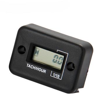 Tachometer Tach Hour Meter For Marine Gasoline Engine Lawn Mower Atv Motorcycle Snowmobile Jet Ski Pit - discount item  31% OFF Auto Replacement Parts