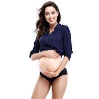 2 10Months Artificial Fake Silicone Belly Tummy Paunch abdomen False Pregnancy Crossdresser Halloween Spoof
