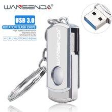 Nieuwe WANSENDA usb 3.0 Usb Flash Drive Rotatie Pen Drive 16GB 32GB 64GB 128GB 256GB pendrive USB 3.0 Flash Drive Memory Stick