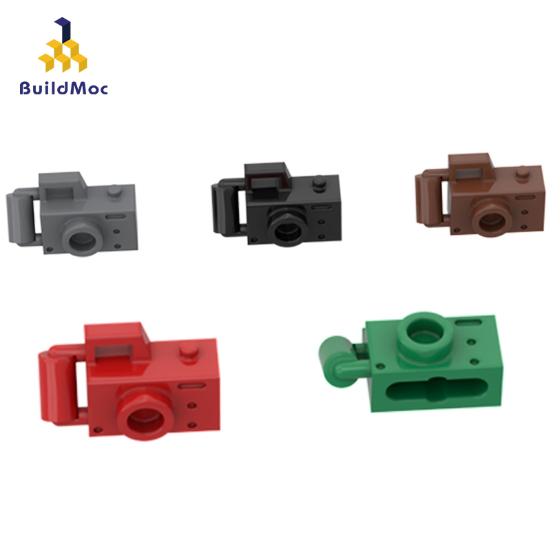 BuildMOC Compatible Assembles Particles 30089 Camera  Building Blocks Parts DIY LOGO Educational Creatives Gift Toys