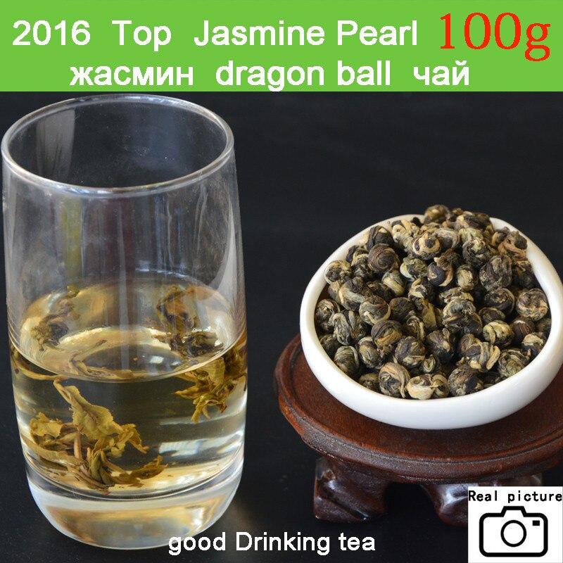 New Fresh Natural Organic Premium Chinese Jasmine Green Tea Jasmine Dragon Pearl Fragrance Slimming Flower Kung Fu Tea 1