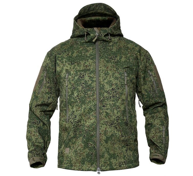 Russian Military Uniform Jungle Digital Camouflage Winter Plus Velvet Waterproof