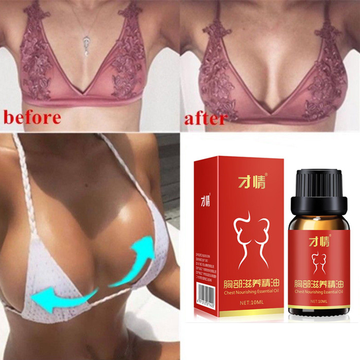 10ML Hot Breast Essential Oils Augmentation Promote Breast Growth Cream Chest Enlarge Effective Breast Enlargement