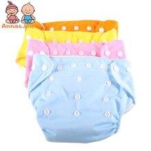 30pcs/Lot Summer Design Adjustable Diapers Baby Children's Underwear Reusable Nappies underPants suit 5-15kg