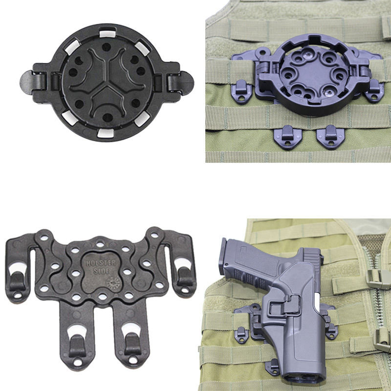 Connect Molle CQC Strike Gun Holster Platform Adapter Mount At Any Cqc Pistol Airsoft Rifle Quick Disconnect System With Screw