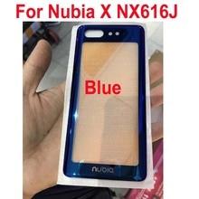 Аккумулятор задняя крышка задняя дверь корпус чехол для zte Nubia X NX616J телефон запчасти